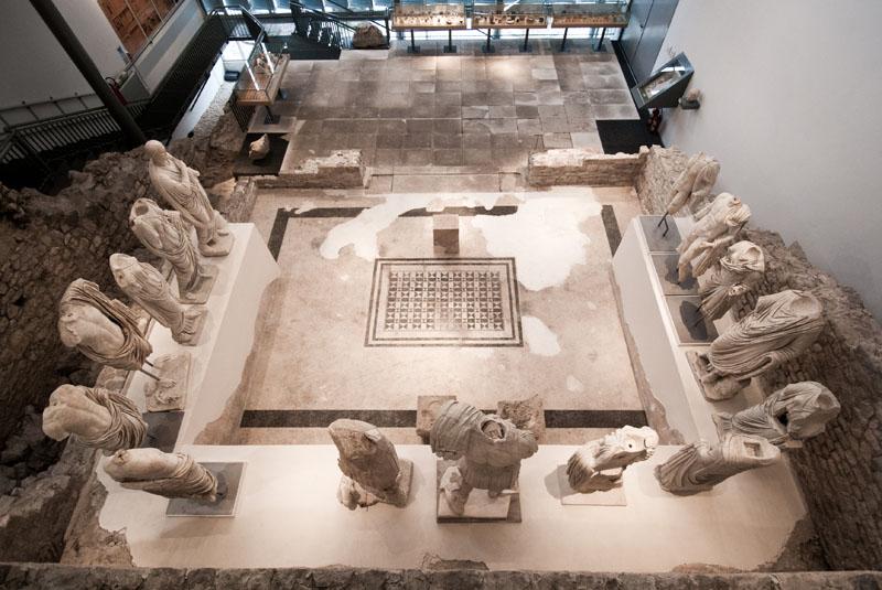 Arheološki muzej Narona - pogled na Augusteum. Fotografiju ustupio: AMN.