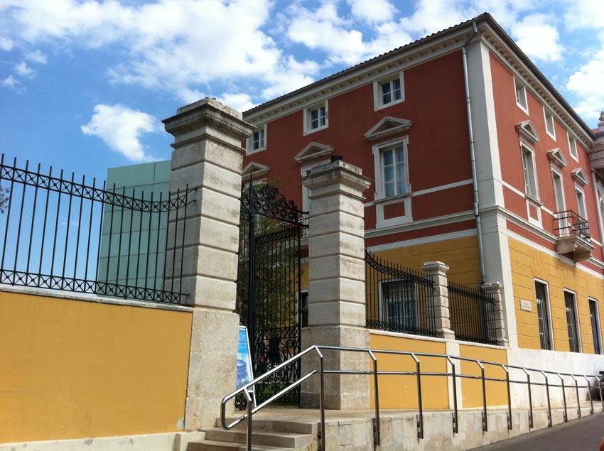 Muzej antičkog stakla u Zadru. Autor: VJB.