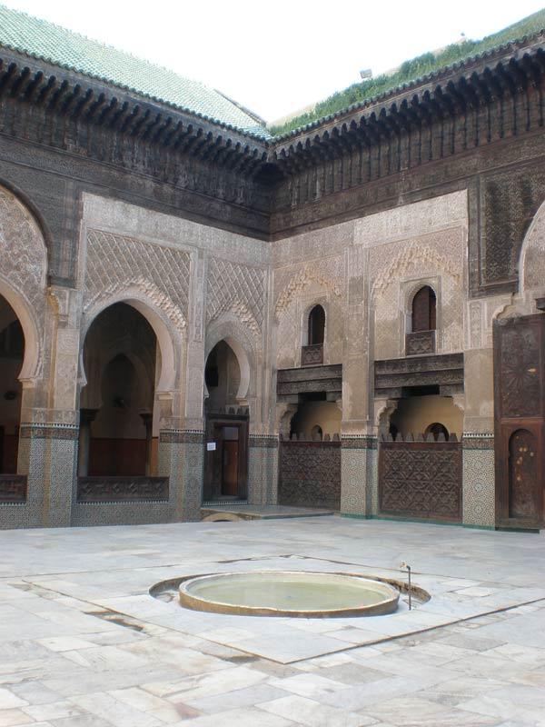 Maroko, Fes - Bou Inania Medresa.