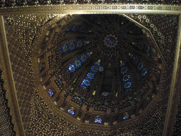 Maroko, Rabat - Kupola Mauzoleja Mohameda V.