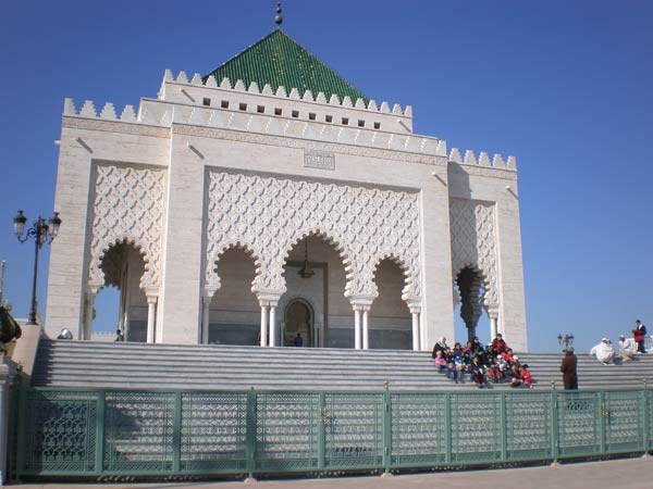 Maroko, Rabat - Mauzolej Mohameda V.