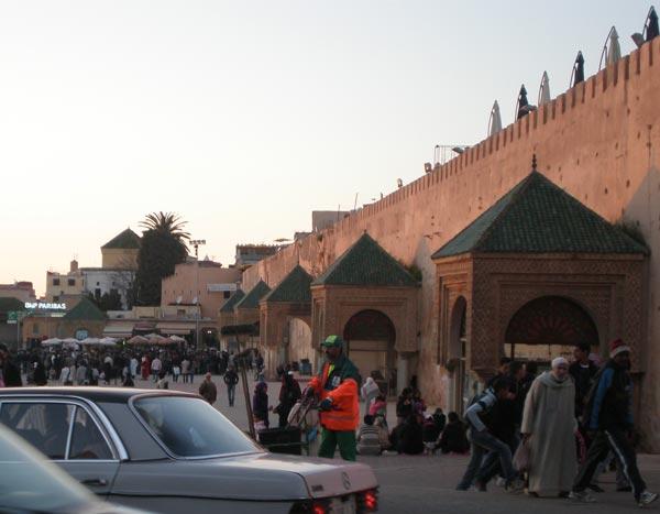 Maroko, Meknes - Place el Hedime.