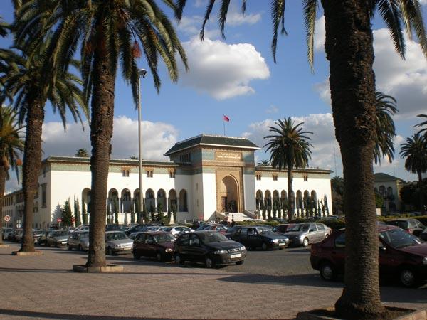 Maroko, Casablanca - Trg Muhameda V.