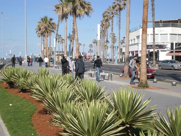 Maroko, Casablanca - Avenija Ain Diab.