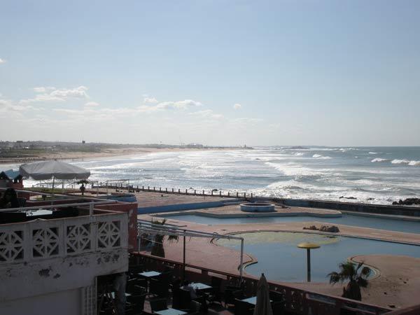 Maroko, Casablanca - Ain Diab - kompleks bazena.