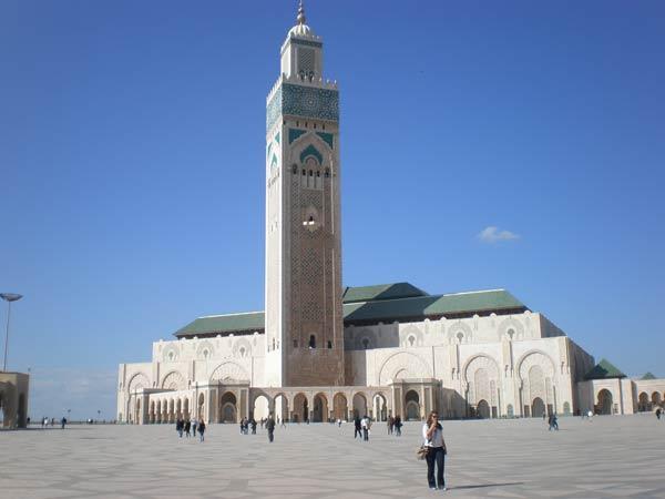Maroko, Casablanca - Džamija Hasana II.