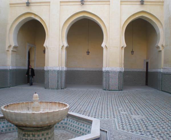 Maroko, Meknes - Mauzolej Moulay Ismaila.