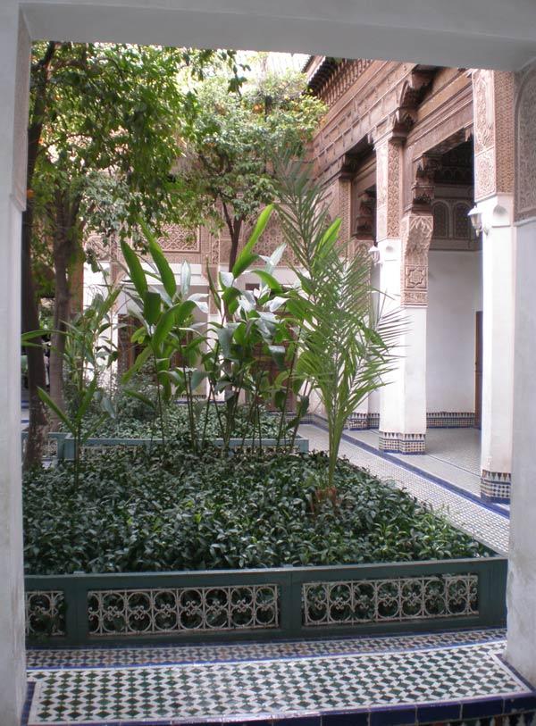 Maroko, Marrakech - Palača Bahia.