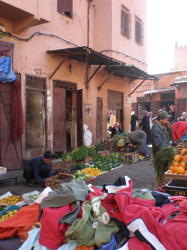Maroko, Marrakech - Prizor s ulice.