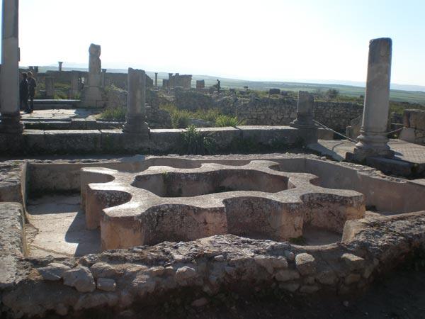 Maroko, Volubilis - Solarium.