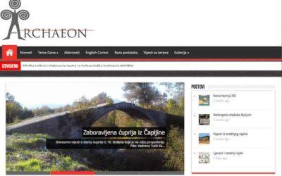 ARCHAEON – Arheološki portal Bosne i Hercegovine