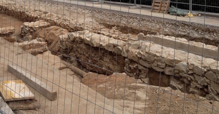 Pronalazak antičkog amfiteatra u Splitu. Foto: Arheologija.hr.