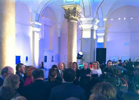 Otvorenje Izložbe Zemaljskog muzeja u Mimari 31.01.2014.  Foto: AJ.