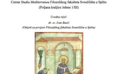 FFST – Predavanje Dragane Kunčer 'Portret dalmatinskog episkopa krajem 6. veka' [PRESS]
