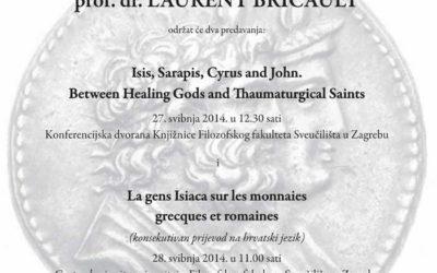 FFZG – Predavanja prof. Laurenta Bricaulta sa Sveučilišta u Toulouseu