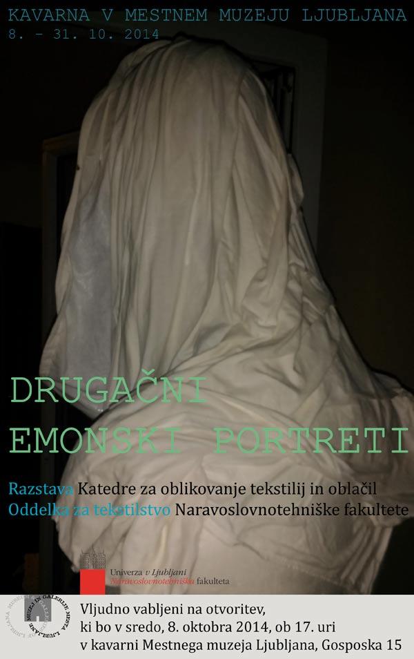 [SLO] MM | NTF - Izložba 'Drugačni emonski portreti'. Ustupio: NMS PRESS.