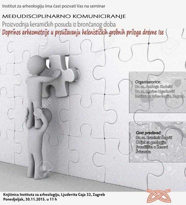 IARH - Seminar - Međudisciplinarno komuniciranje. Ustupio: IARH PRESS.