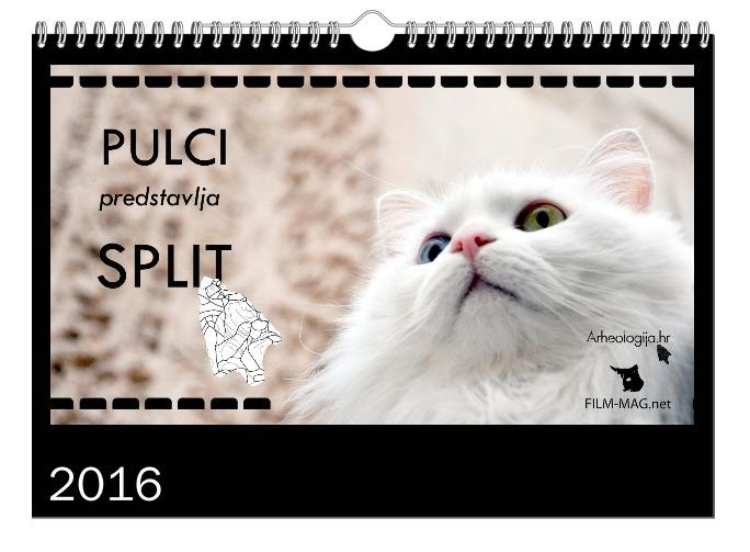 ArheoKalendar© 2016. 'PULCI predstavlja SPLIT'
