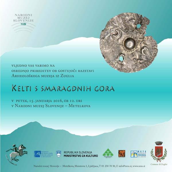 NMS - Gostujoča razstava 'Kelti s smaragdnih gora'. Ustupio: NMS PRESS.