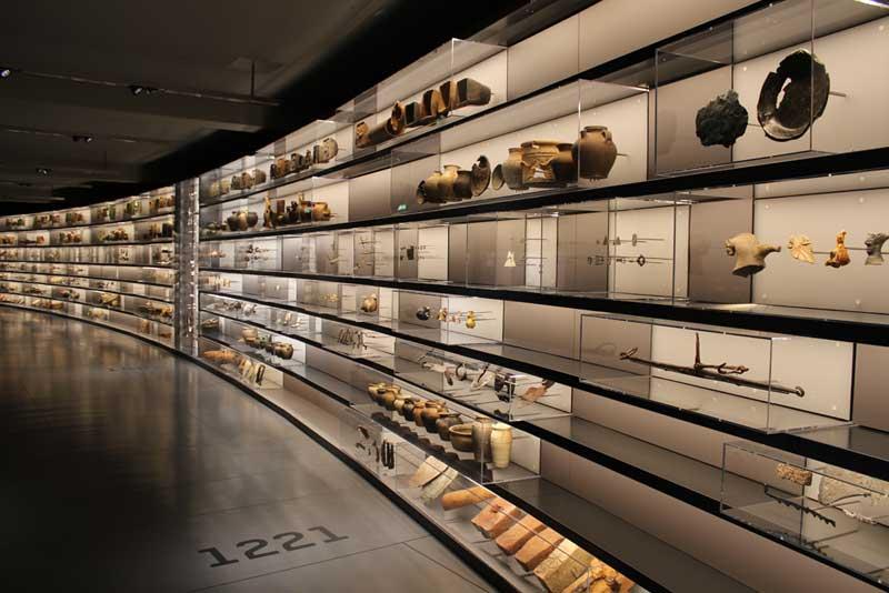 SMAC - Staatliches Museum für Archäologie Chemnitz (State Museum for Archaeology in Chemnitz). Autor: KDG.
