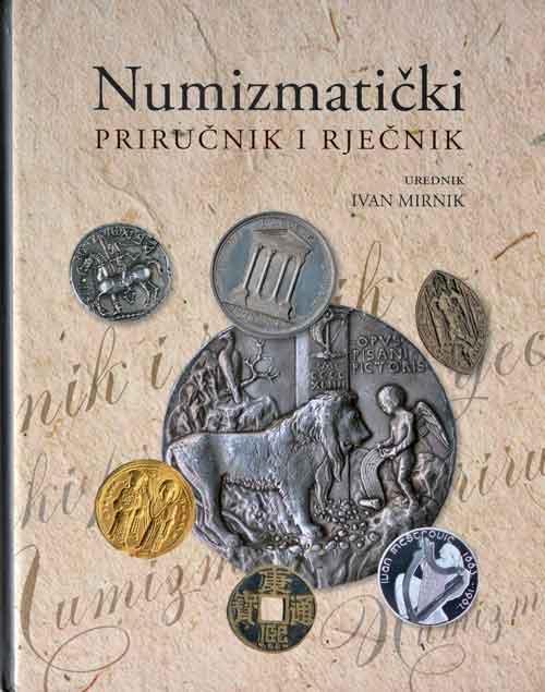 Naslovnica priručnika 'Numizmatički priručnik i rječnik'. Foto: VJB.