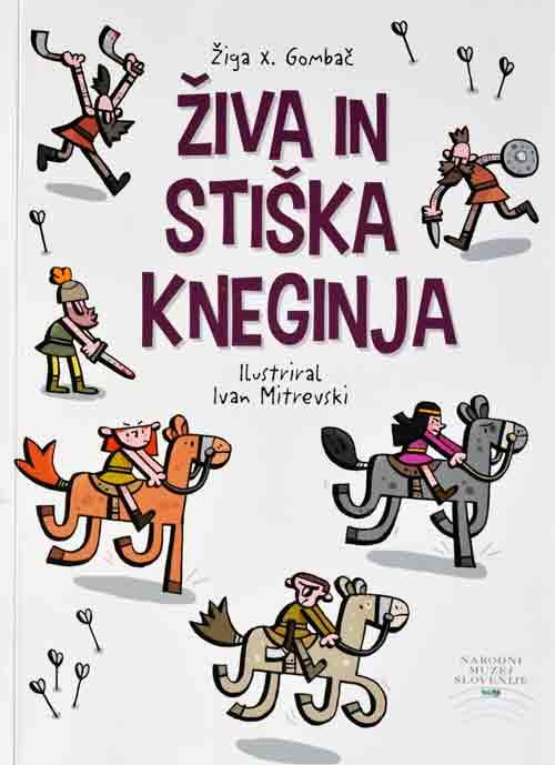 Naslovnica publikacije 'Živa in stiška kneginja'. Foto: VJB.
