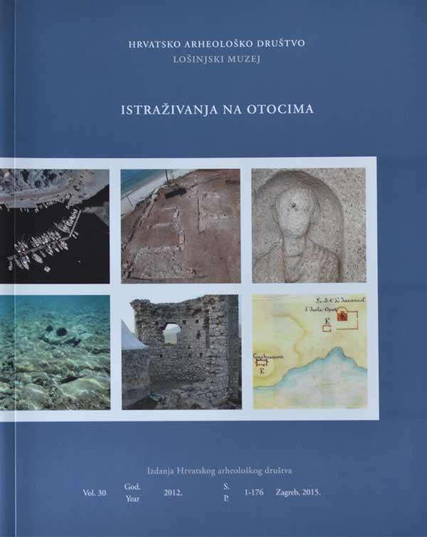 Naslovnica zbornika 'Istraživanja na otocima'. Fotografija: VJB.