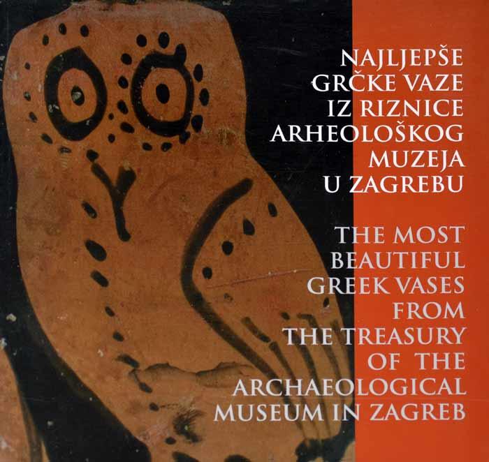 Katalog – Najljepše grčke vaze iz riznice Arheološkog muzeja u Zagrebu. Foto: VJB.