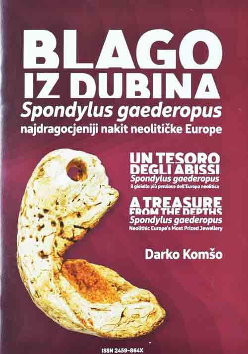 "Naslovnica kataloga ""Blago iz dubina"". Foto: VJB."