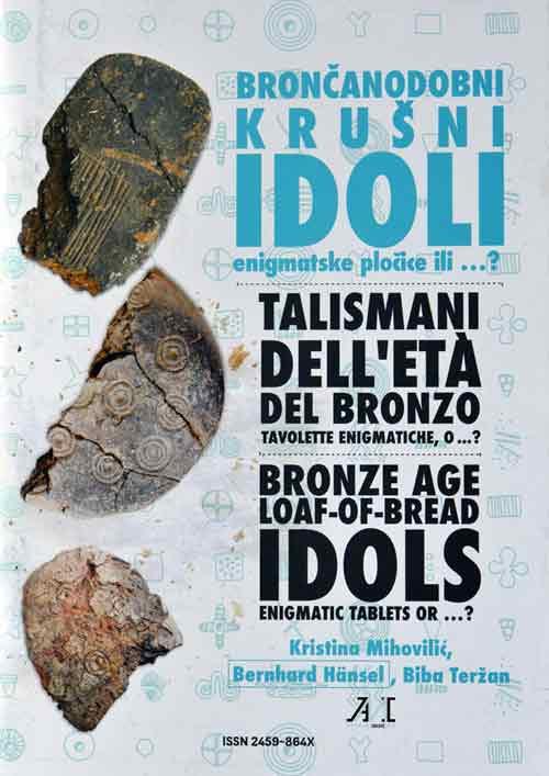 "Naslovnica kataloga ""Bronačanodobni krušni idoli"". Foto: VJB:"