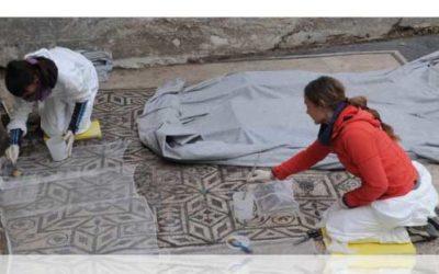 ZVKDS – 2. simpozij o mozaicima 'Zaščita in vzdrževanje mozaikov in situ' (PRESS)
