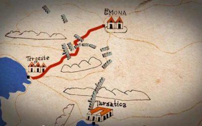 CLAUSTRA  – Dokumentarni film – Projekt Kamniti braniki Rimskega imperija / Projekt Kameni branici Rimskog carstva [PRESS]